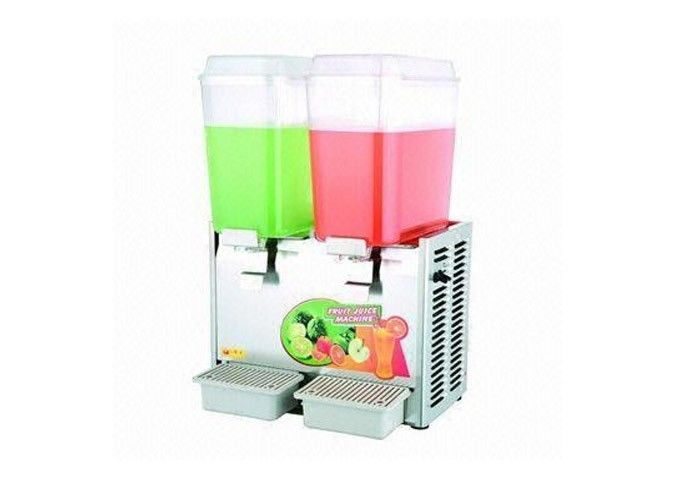 Double Heads Commercial Cold Drink Dispenser Economic and High Production