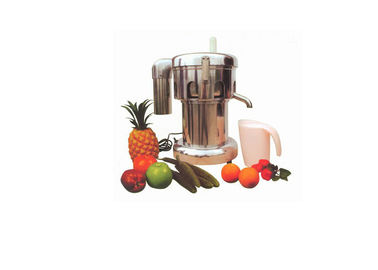 Home Centrifugal Juice Maker Machine / Commercial Steel Fruit Juice Extractor