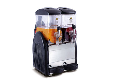 China Double Bowls Fruit Juice Frozen Slush Machine , Frozen Margarita Machine distributor