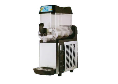 Juice Drinking PVC Stainless Steel Frozen Slush Granita Machine Automatic Cleaning