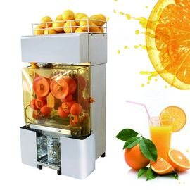 China Antomatically Orange Juice Extractor , Stainless Steel Fresh Juicing Machine distributor