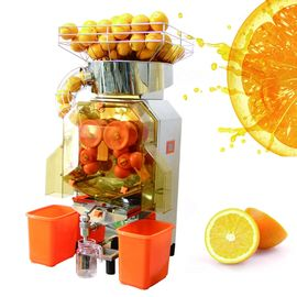 China High Output Automatic Orange Juicer Extractor With Auto Feed Hopper distributor
