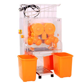 China 220V Commercial Automatic Orange Juice Machine / Stainless Steel Lemon Squeezer For Store distributor