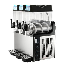 Granita Smoothie 12l Ice Slush Puppy Machine With Three Bowl CE