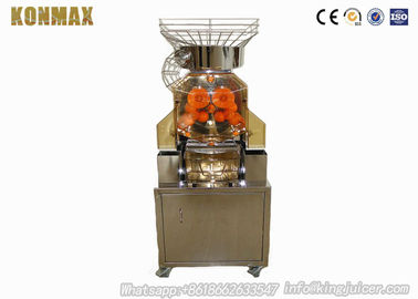 Elegant Shape Pomegranate Juice Machine Stainless Steel Metal Casing Auto Feeder