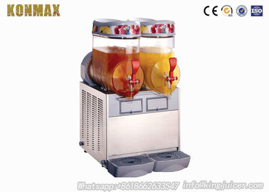 Commercial Cold Drink Dispenser Machine Hot Juicer Dispenser 18 Liter Two Bowls