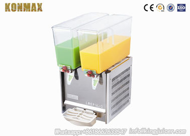 China 9L×2 Commercial Beverage Dispenser / Juicer Blender For Hotel or Restaurant factory