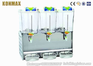 China Stainless Steel Beverage Juice Dispenser Cold Hot Juicer Drink CE Certificate factory