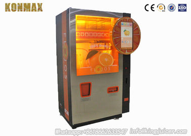 100% Pure Orange Juice Vending Machine Automatic With Easy Payment Way Cash / Coin