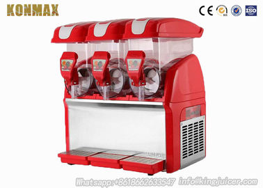 3 Tank Frozen Drink Slush Slushy Making Machine 15 Liter Smoothie Maker 110V