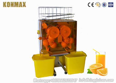 China Automatic Feed Orange Juicer Machine Bar Citrus Juice Extractor 120W factory