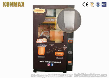Visible Wifi Control Fresh Squeezed Orange Juice Machine With Coin / Cash Payment