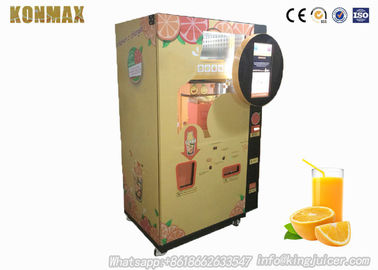 Auto Ozone Sterilazation Freshly Squeezed Orange Juice Vending Machine With Lcd Nfc