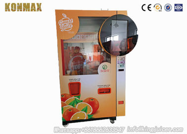 Healthy Commercial Auto Fresh Orange Juice Vending Machine With SASO Certificate