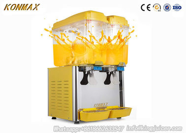 China CE Certificate 2 tank Stainless Steel Drink Beverage Cold Juicer Drink Juice Dispenser factory