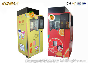 Wifi Credit Card Fresh Juice Vending Machine Commercial Entertainment Places Using