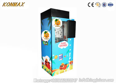 Smart Fresh Squeezed Fruit Juice Vending Machine , Orange Vending Machine