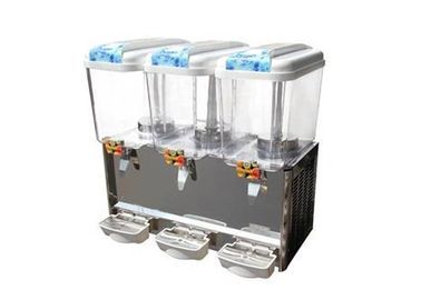 China Triple Tank Commercial Automatic Beverage Dispenser Fruit Juice Dispensers 18 Liter distributor