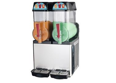 Double Tank Commercial Smoothie Machine 12L Ice Margarita Slush Dispenser for Business