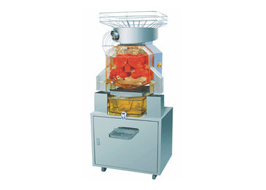 China Commercial Fresh Squeezed Orange Juice Machine For Cafes / Juice Bars With Cabinet factory