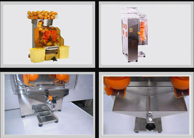 China Custom Orange Juice Squeezer , Pomegranate Juice Machine With Automatic Feeder distributor