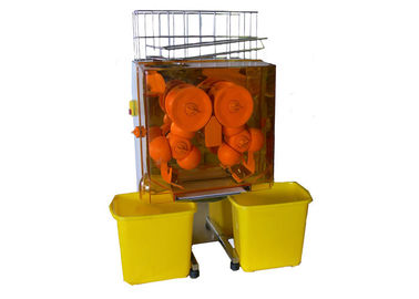 China Orange and Pomegranate Automatic Commercial Fruit / Vegetable Juicer Machine 770mm Height distributor