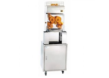 Electric Automatic Orange Juicer Machine / Auto Commercial Fruit Juicers