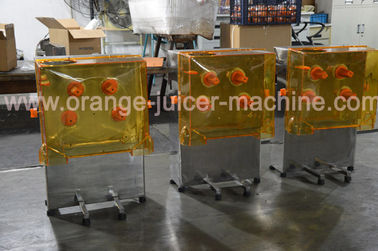 China Zumex Commercial Fruit Juicer Machines / Orange Juice Maker Stainless steel distributor