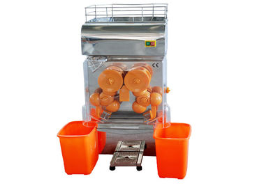 Automatic Electric Commercial Orange Juicer Machine 370W High Power