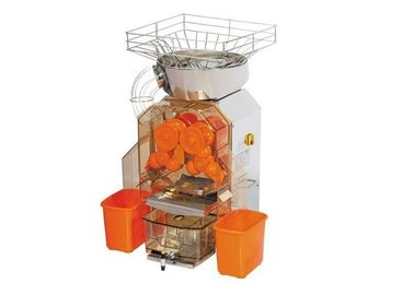China Heavy Duty Orange Juice Squeezer Machine With Automatic Feeder For Restaurants distributor
