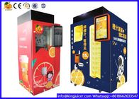 Industrial Fresh Squeezed Orange Juice Vending Machine With Ozone Sterilazation