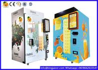 Coin And Note Payment Automatic Orange Juice Vending Machine With Cooling System