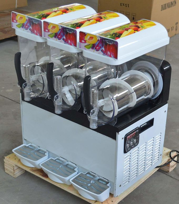 Double Flavour And Three Flavour Margarita Slush Machine 15 liters With CE