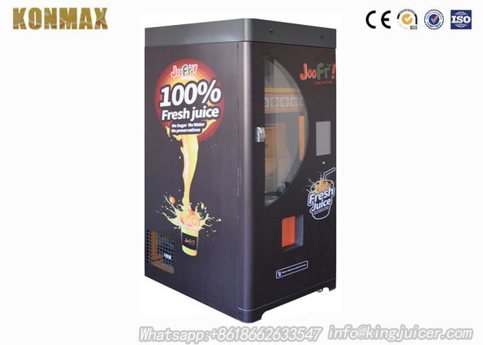 Orange Fruit Juice Vending Machine APP In Android Phone For Remote Control