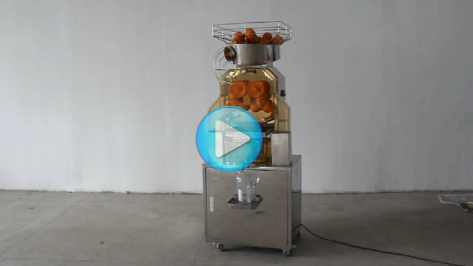 High Efficiency Stainless Steel Commercial Orange Juicer Machine For Fruit Shop