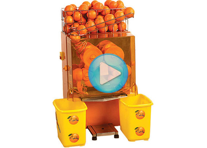 Stainless Steel Commercial Orange Juicer Machine For Coffee House CE