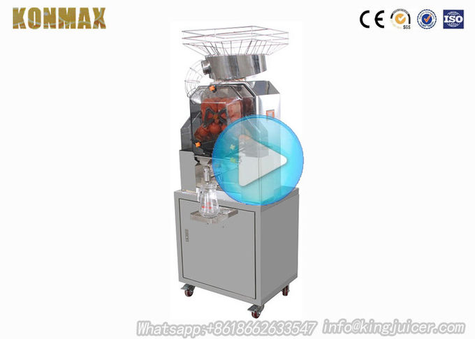 4 Wheel Fiberglass Commercial Cold Pressed Juicer Machine For Zummo Mobile Juice Bar