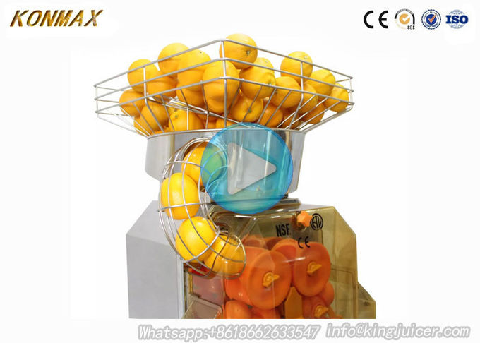 Stainless Steel Automatic Orange Juicer Machine , Orange Squeezer Machine 4