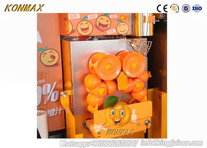 Full Automatic 100% Pure Orange Vending Machine With LCD For Supermarket