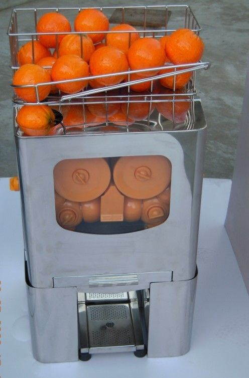 Professional Commercial Automatic Orange Juicer Machine , Auto Orange Juice Extractor