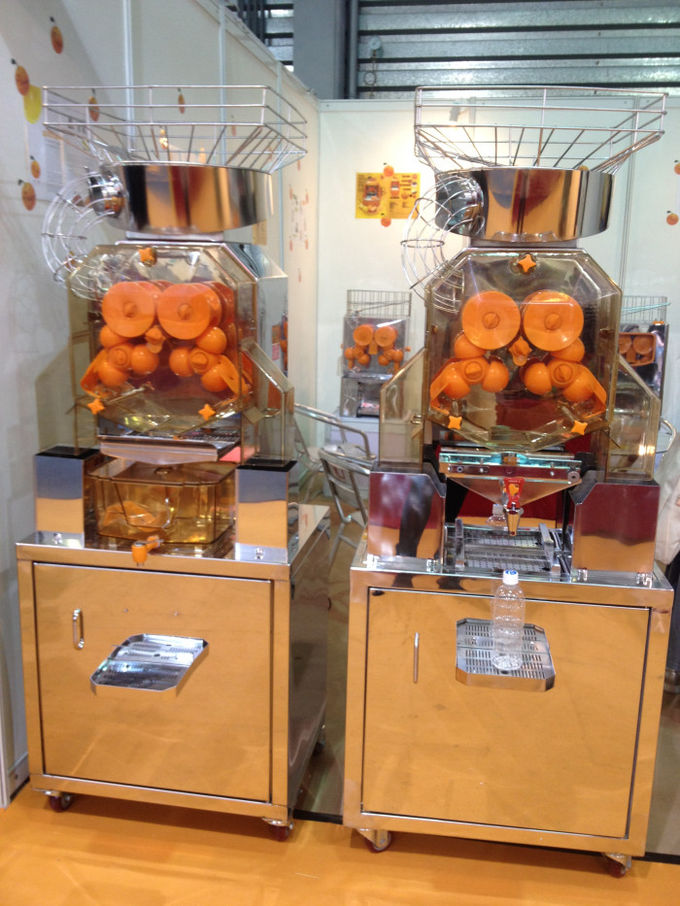 Commercial Fresh Squeezed Orange Juice Machine For Cafes