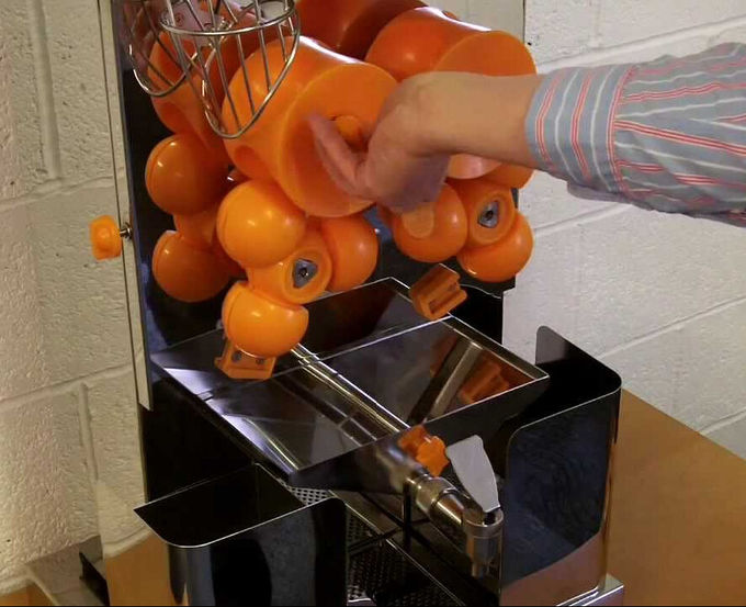 CE Electric Commercial Automatic Orange Juicer Machine for Drink Shop 1