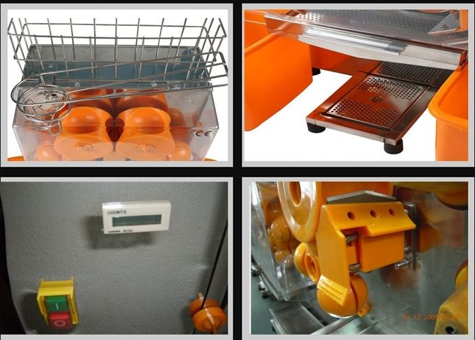 Large Stainless Steel Pomegranate Orange Juicer Machine , Bar Auto Orange Press Juicers