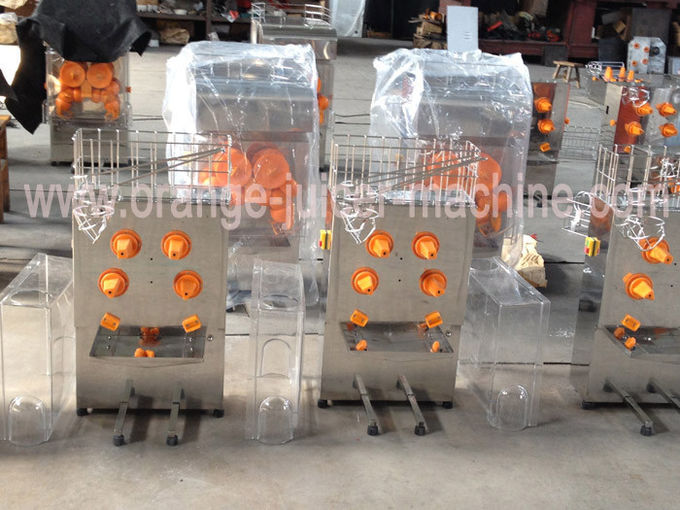 Light Weight Orange Juice Make Machine / Juicer For Drink Shops with 40mm - 70mm Orange