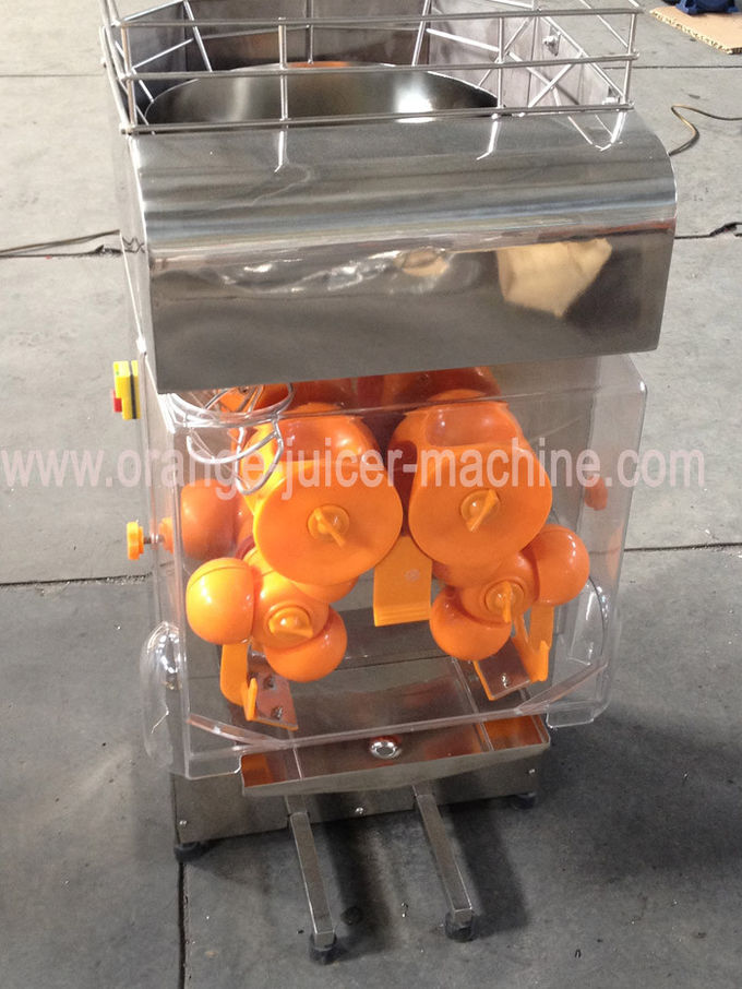 CE Electric Commercial Automatic Orange Juicer Machine for Drink Shop 0